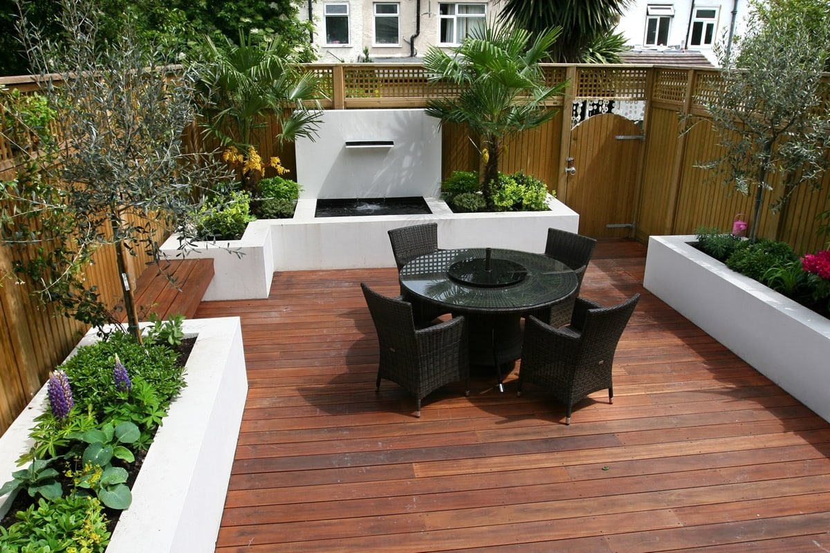 Decking services in London