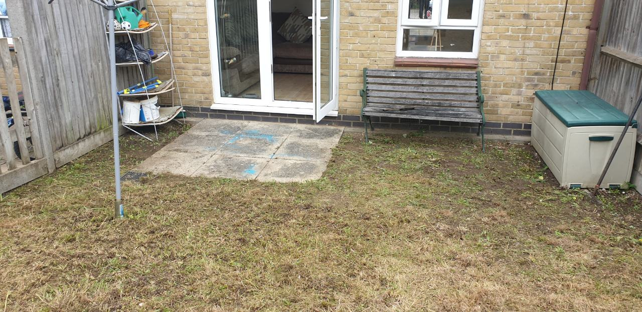 Grass cutting in Barnet, North London